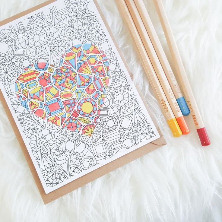 I don't always color in my own illustrations but when I do... It's because I'm in love with these colored pencils from @rockerycottage!  What are you coloring today? Tag me in your WIPs I want to see them all!