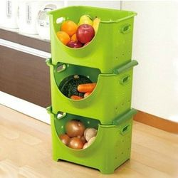 Fish fruit and vegetable storage basket plastic miscellaneously Large finishing frame storage box 3