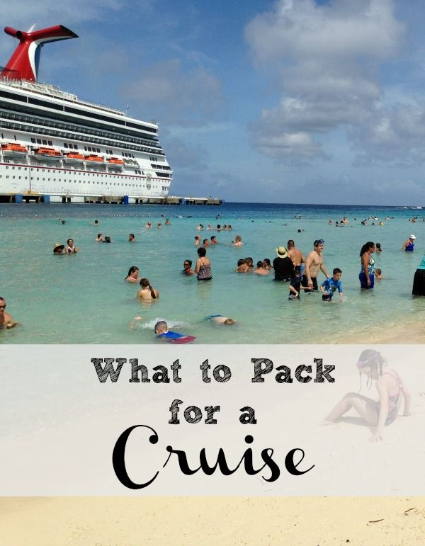 Going on your first cruise this winter? Find out what to pack for a cruise so you'll be prepared! {Sponsored by Carnival}