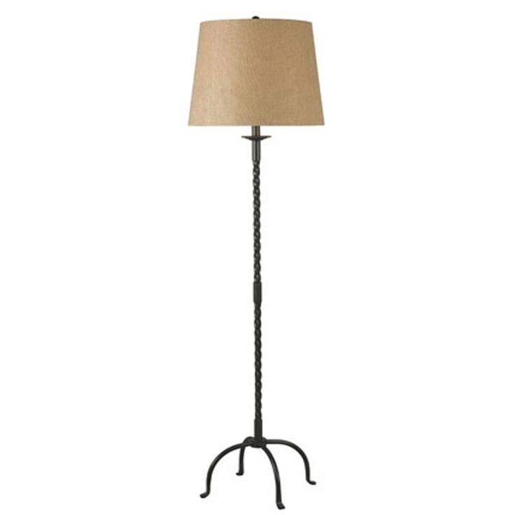 Colonial Candle Stick Floor Lamp