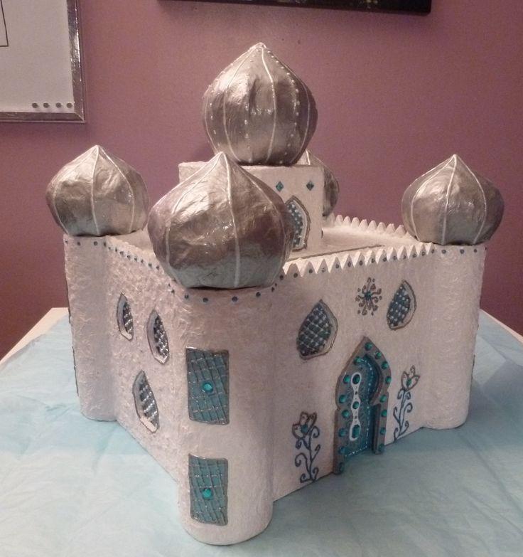 Urne de Mariage, palais oriental, carton et papier (avec images)   Urne mariage, Idées de ...