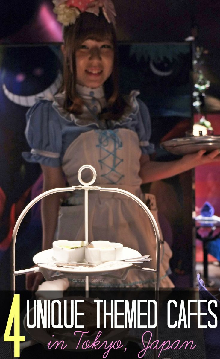 4 Unique Themed Cafes in Tokyo, Japan