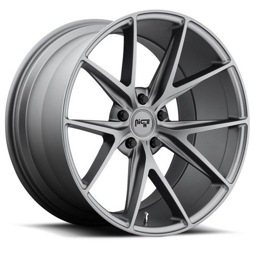 "17"" 18"" 19"" 20"" 21"" 22"" Niche Wheels M116 Misano Anthracite Rims *Free Shipping #AudioCity"