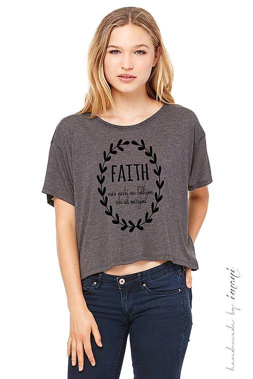 imani / Dámske tričko FAITH
