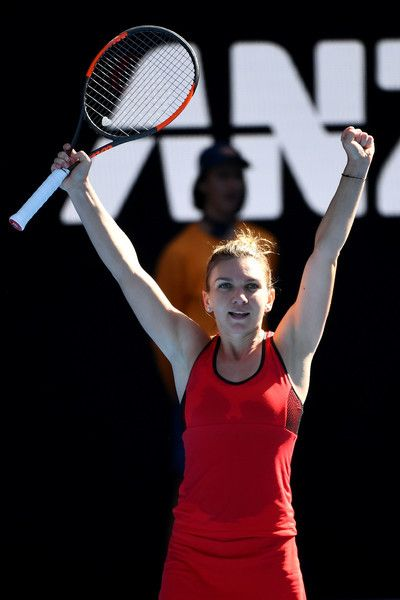 Simona Halep Australian Open 2018 tennis Quarter Finals
