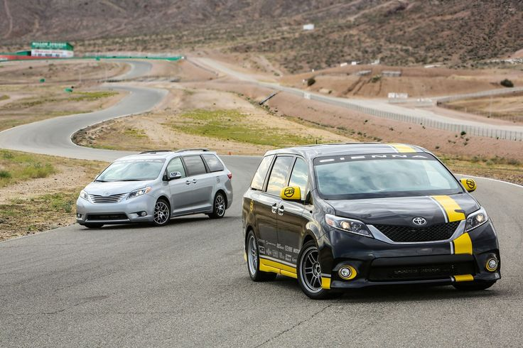 Toyota's track-honed Sienna R minivan eats the Chevy Camaro SS for breakfast