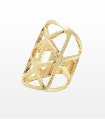 #DYNHOLIDAY Accessorize your look with this geometric cut out ring!
