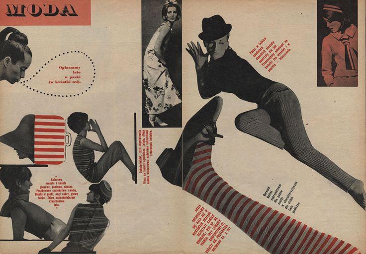 """""""Ty i Ja"""" 1963 nr 5 Wystawa Sweet 60's, portal www.fotorejestr.net"""