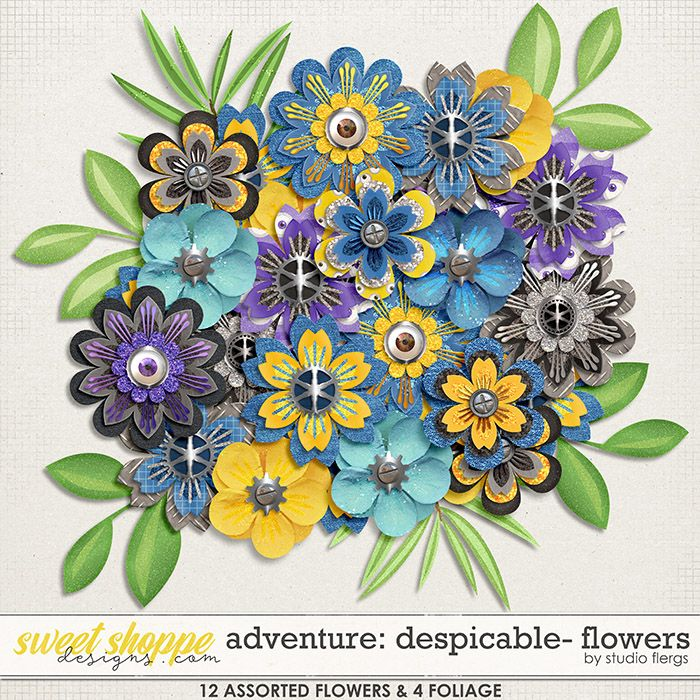 Adventure: Despicable- FLOWERS by Studio Flergs