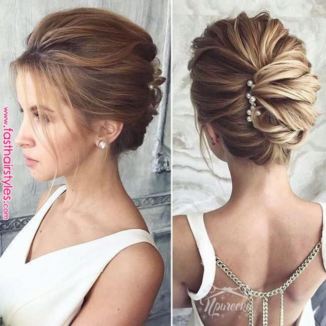 This Medium Length Wedding Hairstyles Truly Are Trendy Mediumlengthweddinghairs Short Wedding Hair Medium Length Hair Styles Wedding Hairstyles Medium Length