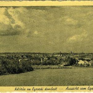 Sopron - Kilátás az Egeredi dombról