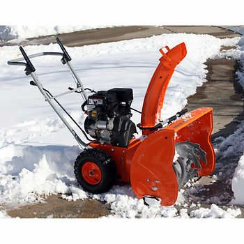 Yardmax 61 cm (24 in.) Dual-stage 7.0 HP 208 cc Gas Snow Blower