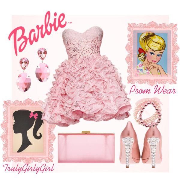 """Barbie: Prom Wear"" by trulygirlygirl on Polyvore"