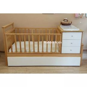 Cuna Funcional- Bebe-lustrada-diseño Exclusivo- Guatambu- - $ 13.950,00