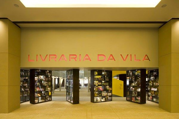 This is a bookstore that seems to be made almost entirely out of books — down to its dramatic front doors. Livraria da Vila, Sao Paulo, Brazil [photos via]