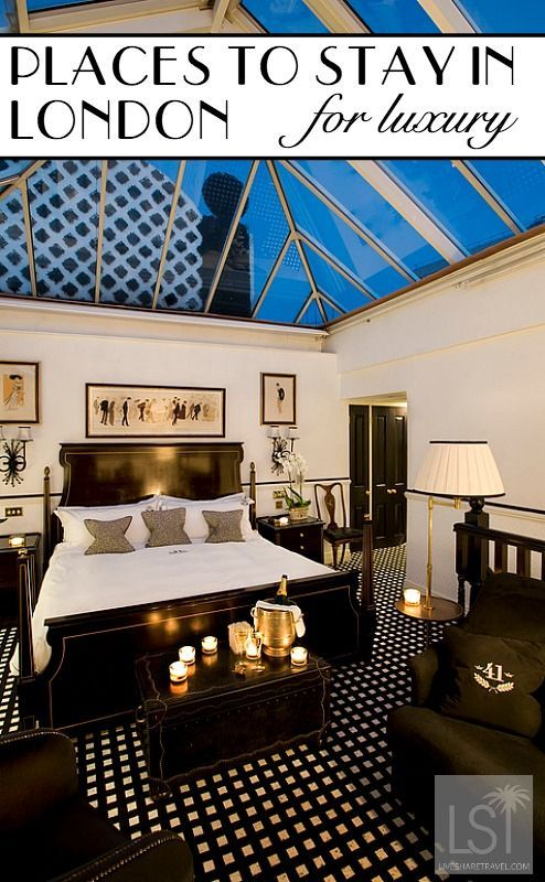 41 Hotel - one of our places to Stay in London for luxury, covering everything from high end glamour to boutique chic luxury hotels. pic: 41 Hotel