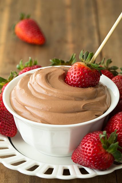 Nutella Cheesecake Dip - you won't have a drop left if you take this to a party (if it even makes it to the party!). Only 4 ingredients and it's to die for!