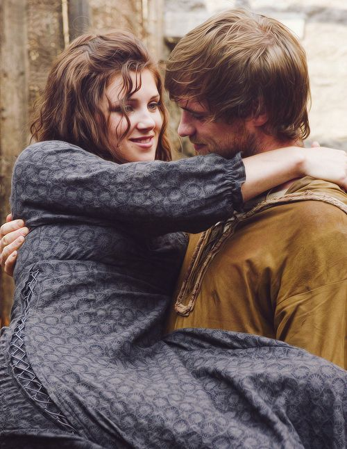 Uh, yeah. I'm adding them again because I love them so much! Marian and Robin (BBC Robin Hood 2006)