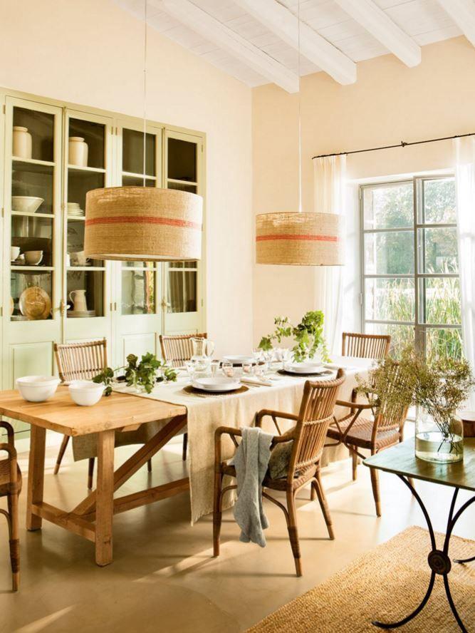 ett spanskt hem i bohemisk stil