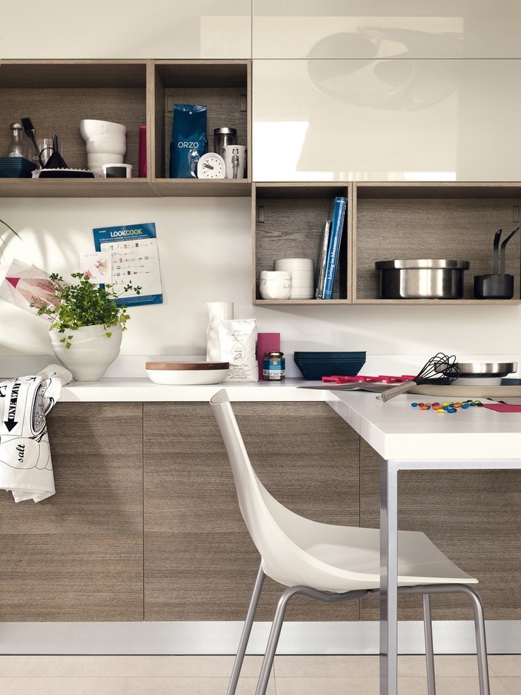 20 best modern kitchens scavolini images on pinterest for Scavolini cabinets