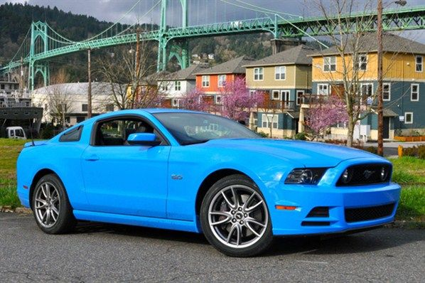 That's Blue, Baby - 2013 Mustang