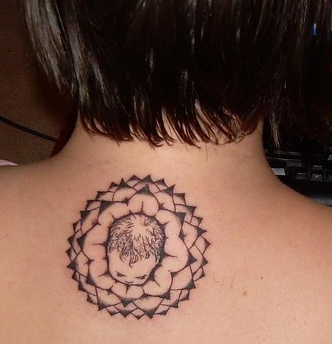 Spiritual Midwifery tattoo. Very cool.