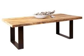 Image result for steel and recycled timber outdoor table