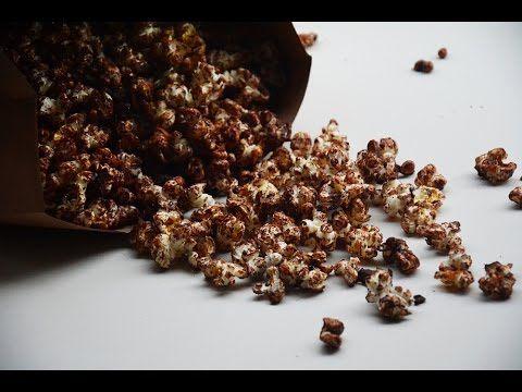 Cómo hacer palomitas caseras con chocolate - Recetas con chocolate - YouTube