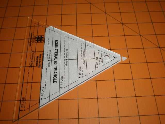 58 best Quilt Rulers images on Pinterest | Quilting rulers ... : 60 degree triangle quilting ruler - Adamdwight.com