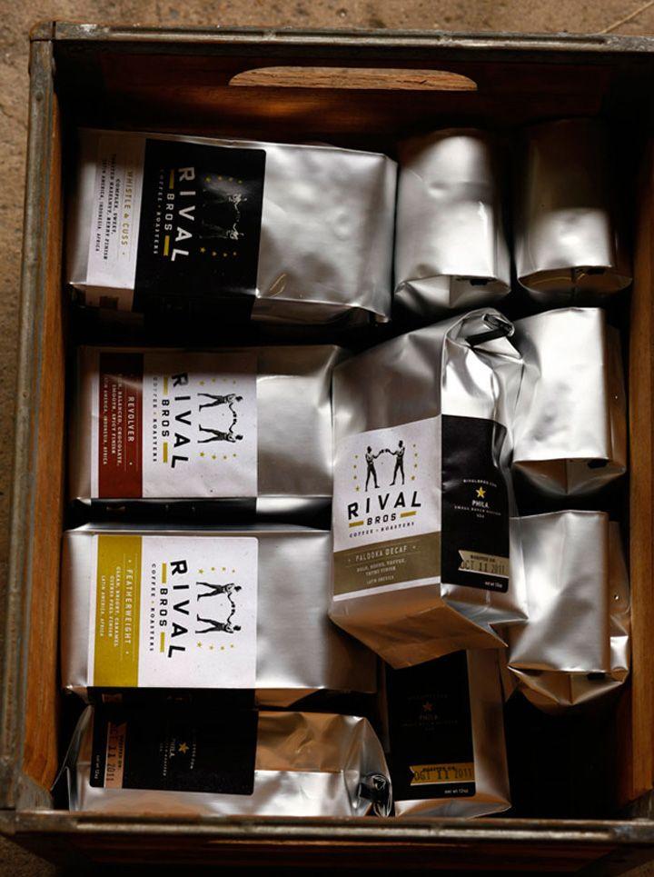 Rival Bros Coffee packaging