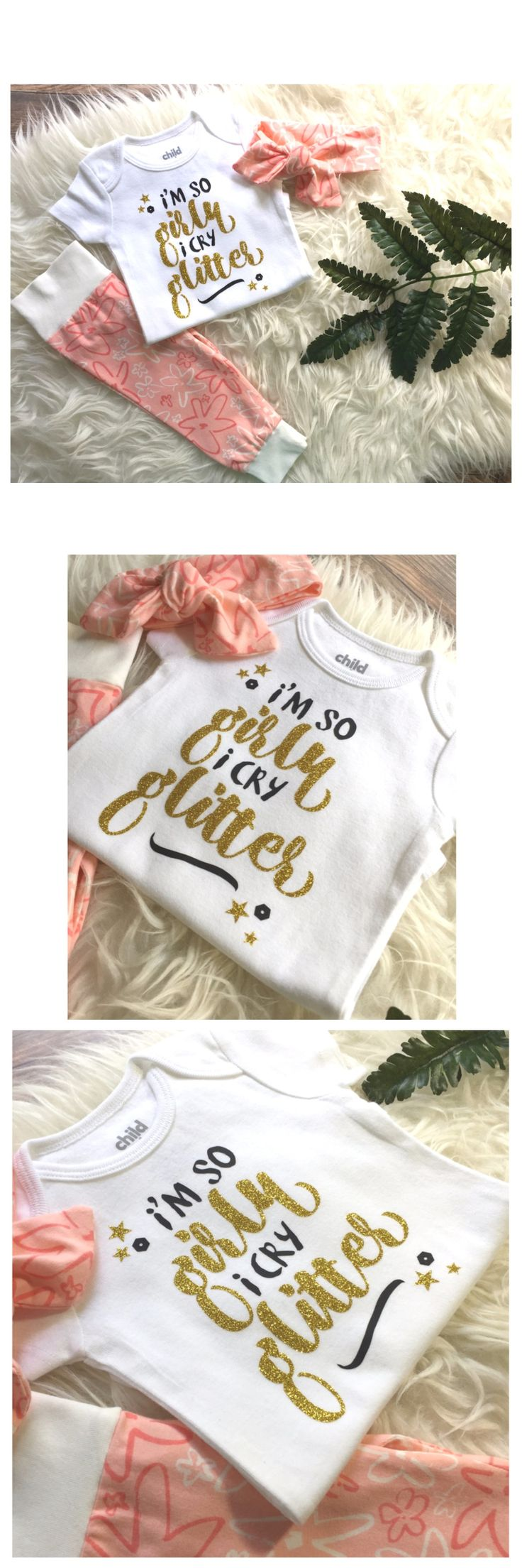 Looking for a special unique baby shower gift? This outfit would make a perfect infant coming home hospital outfit. Toddler sizes available also.