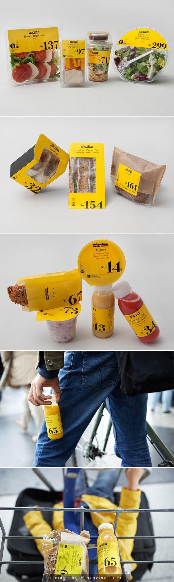 Migrolino - food packaging