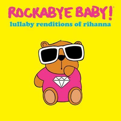Let your baby relax to the lulling tunes of the Rockabye Baby Lullaby Renditions of Rihanna songs. This CD features a variety of Rihanna's hit songs in a soothi