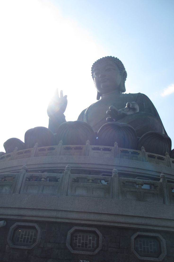 Giant Buddha, Ngong Ping, Hong Kong.. Live to travel Dec 2015