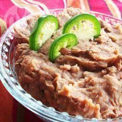 Haricots frits à la mexicaine