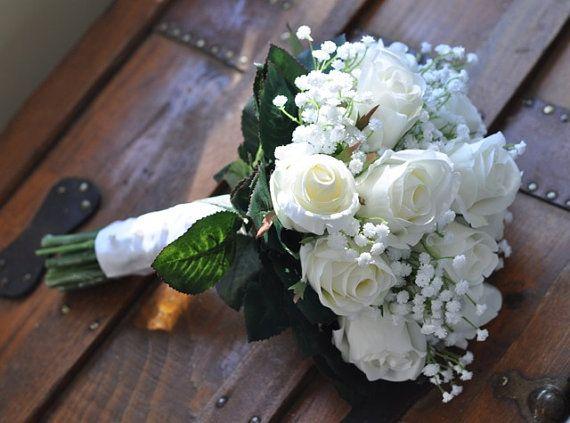 Bruiloft bloemen Wedding Bouquet aandenken door Hollysflowershoppe