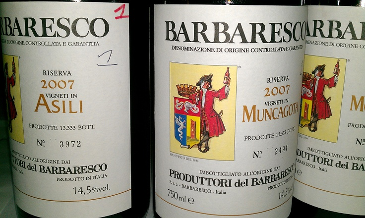 Produttori del Barbaresco Asili 2007 - The star of the show, but seriously... Tasting 8 single Cru wines from these guys was an amazing experience. Almost as good as tasting all of the DRCs from one vintage.... Almost (but I can afford to buy these wines haha!)