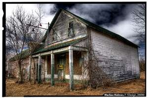 An old abandoned General Store. Located in the hamlet of Balaclava, Ontario Renfrew County - Eastern,