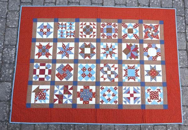 HANNES patchwork sampler tæppe 2015 mønster