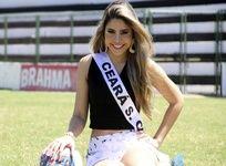 Representante do Vozão no Miss Ceará 2013 visitou a sede alvinegra - http://vozao.net/1c4wqB3