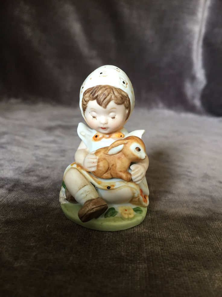 A personal favorite from my Etsy shop https://www.etsy.com/ca/listing/537464708/vintage-little-girl-praying-holding-baby