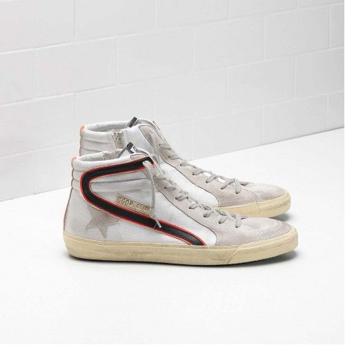 save off b3f9b 64183 Hot Mens Golden Goose Slide Sneakers GGDB G30MS595.Q3 Online ...