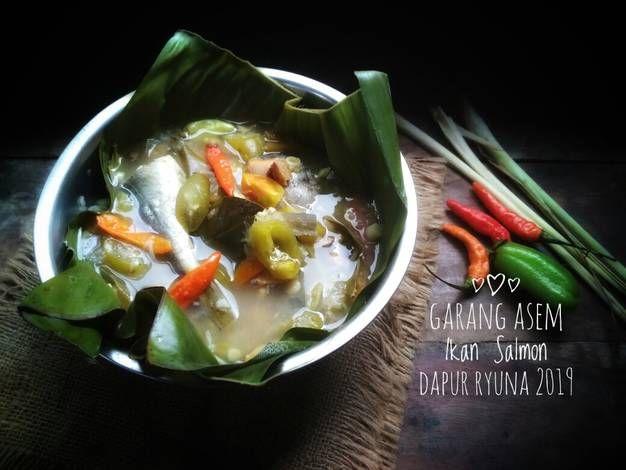 Resep Garang Asem Ikan Salmon Oleh Putri Dapur Ryuna Resep Salmon Resep Daging