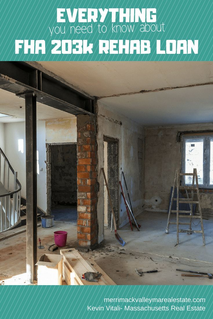 Borrow Money For Repairs And Renovations On Your New Home With An Fha 203k Rehab Loan Does That Home You Love Need A New Furnace Or Roof Does The Flooring
