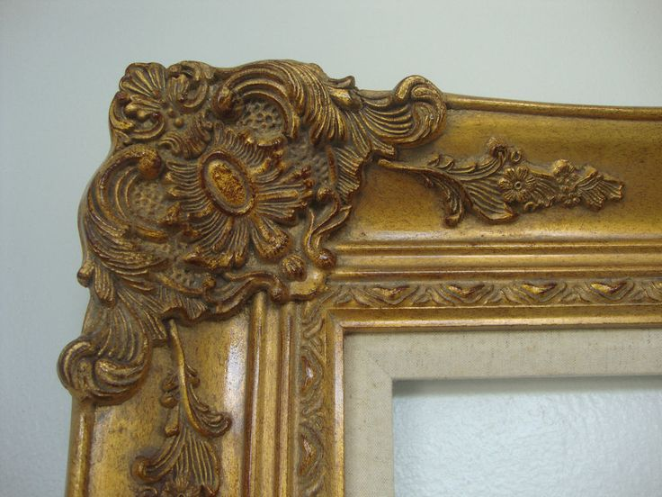 Wood Picture Frame Ornate Antique Gold 36 Quot X 48 Quot Molding