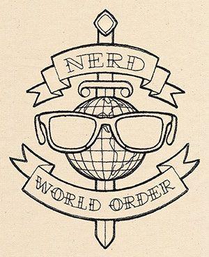 Nerd World Order design (UT6845) from UrbanThreads.com