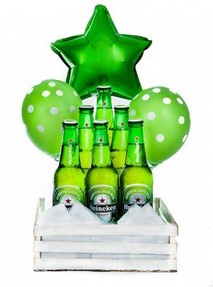 Manda estos globos originales para cualquier ocasión. https://azapregalos.com/florerias/df/globos/arreglo-de-globos-cerveza-heineken