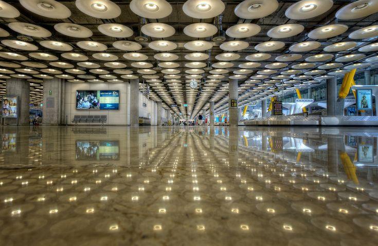 Airport – Aeropuerto Barajas Terminal 4, Madrid (Spain), HDR   por marcp_dmoz