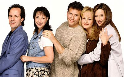 Mad About You is an American sitcom that aired on NBC from September 23, 1992 to May 24, 1999. The show stars Paul Reiser and Helen Hunt as a newly married couple in New York City.