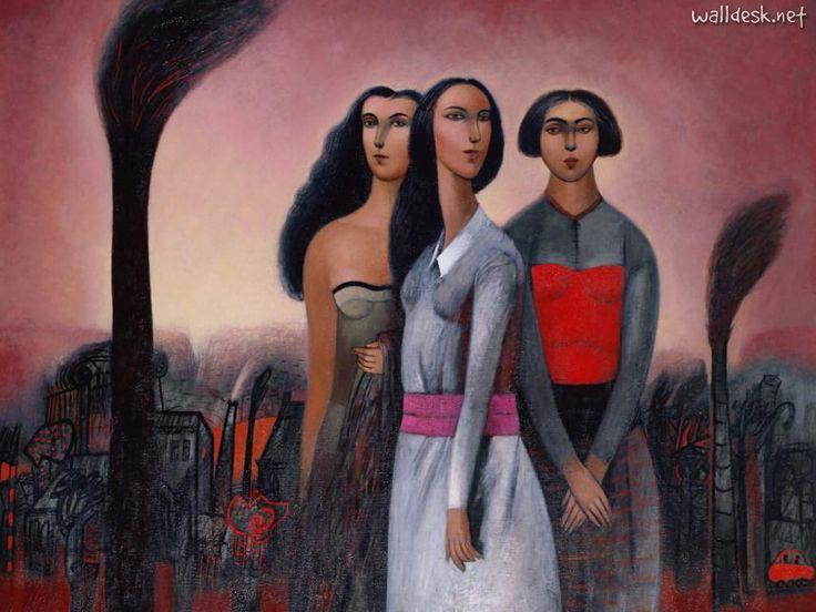 Cienfuegos - Pintor Chileno